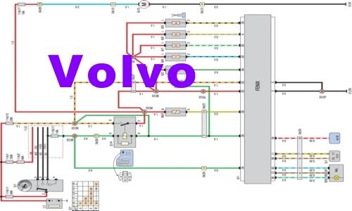 Volvo S40 V40 Подробные схемы