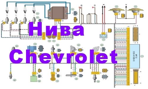 Подробные схемы электрооборудования chevrolet